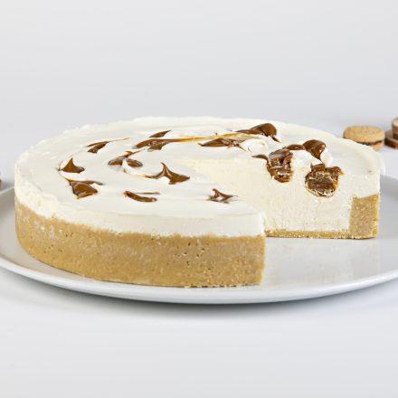 Cheescake Dulce de leche No Baked  » PAS D'HUILE DE PALME »