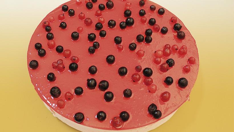 Tarta de frutos rojos
