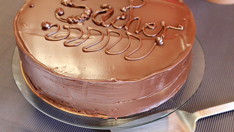 Tarta de chocolate Sacher