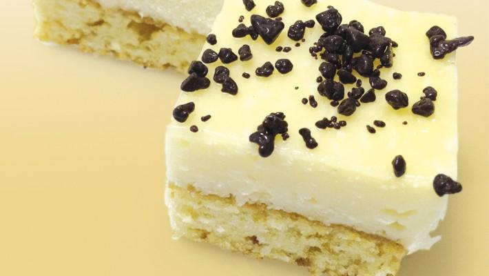 Plancha pastel de almendra y coco