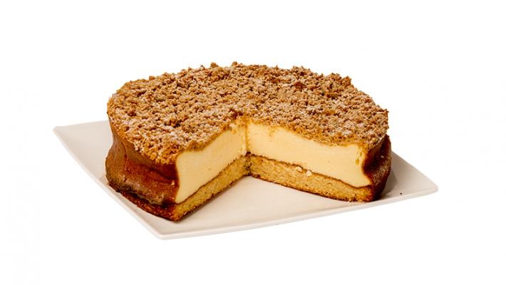 CHEESECAKE CINNAMON STREUSEL