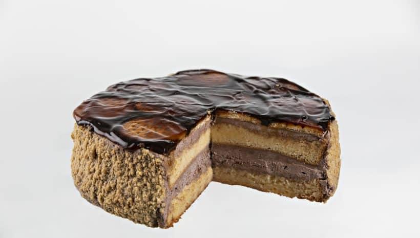 Tarta Chocolate y galleta.