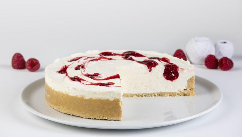 """Cheesecake Frambuesa No Baked """"SIN ACEITE DE PALMA"""""""