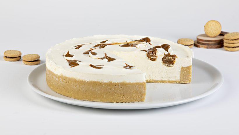 """Cheesecake Dulce de Leche No Baked """"SIN ACEITE DE PALMA"""""""